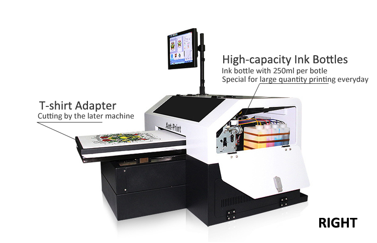 AP-A3-8D digital t-shirt printer