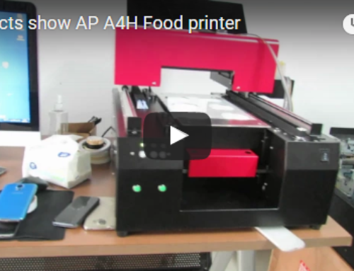 【Products Video】AP-A4H Food Printer Show