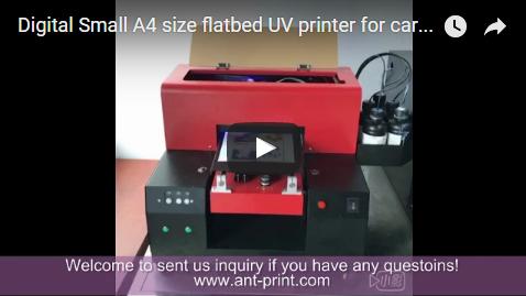 A4 cards UV printer