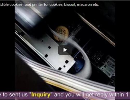 Cookies Printing Video
