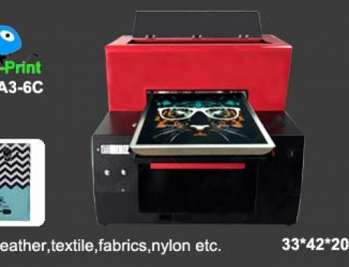 Digital UV Leather Printer