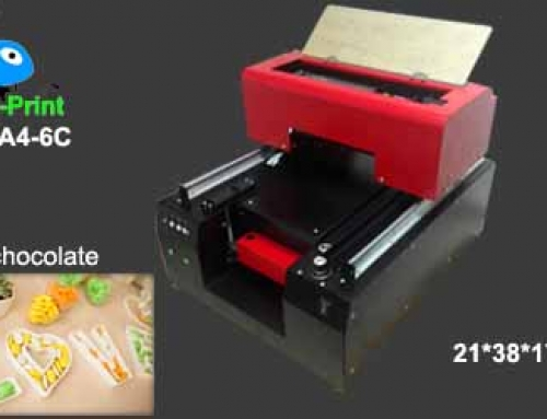 Digital food chocolate photo printer