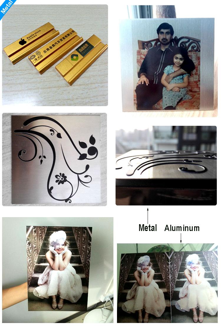 metal and aluminum UV printer