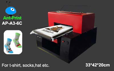 DTG printer for socks, Socks printer