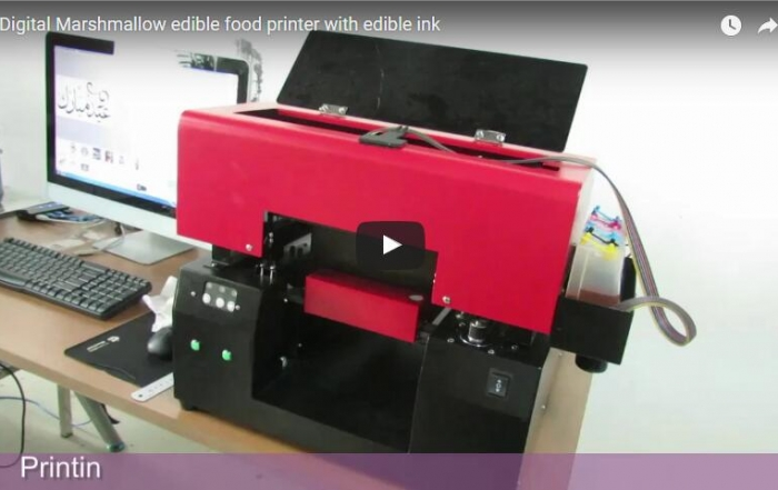 marshmallow food printer with edible ink
