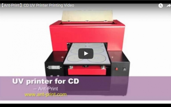 CD UV printer