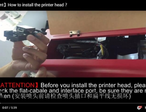 Change The Printer Head(2)