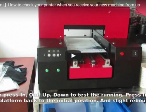 How to check your new printer when you receive your machine?