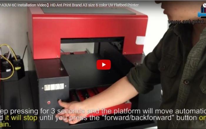 A3 UV installation video